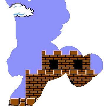 Mario Jump Retro  by geekart123