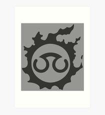 Final Fantasy 14 logo SCH Art Print