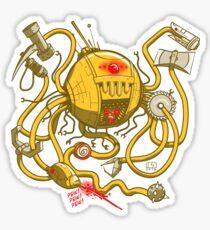 Wrecker The Robot Sticker