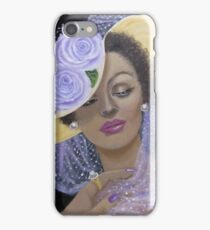 Mysterious and Elegant Lady iPhone Case/Skin
