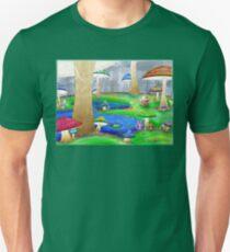 Mushroom Land Unisex T-Shirt