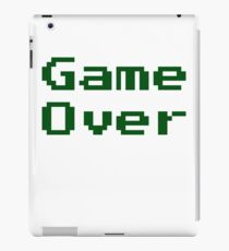 Game Over Retro Game T-Shirt iPad Case/Skin