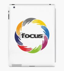 focus iPad Case/Skin