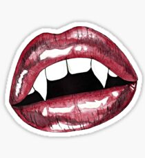 Vampire Lips  Sticker