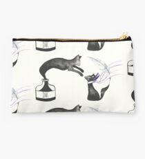 Black Ink Cats Studio Pouch