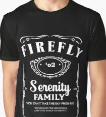 Firefly Whiskey Graphic T-Shirt