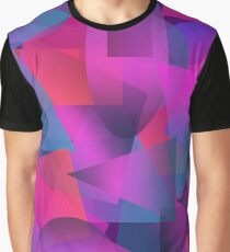 Abstract cube Graphic T-Shirt
