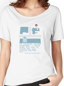 Please Return To - Pokemon Women's Relaxed Fit T-Shirt