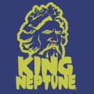 King Neptune Head - Yellow by Lee Lacy
