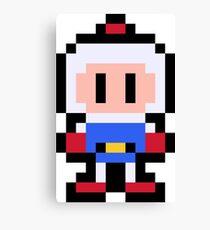 Pixel Bomberman Canvas Print