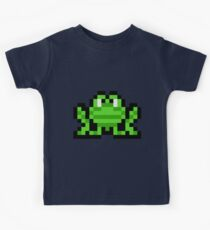 Pixel Frogger Kids Clothes
