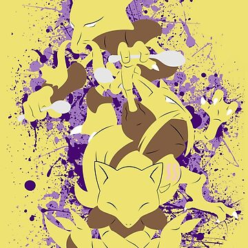 Abra, Kadabra, Alakazam Splatter by adhpv