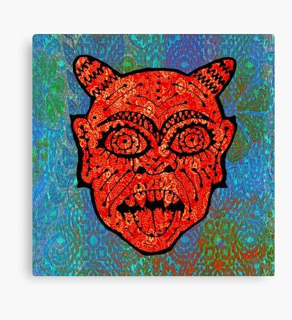 'Handsome Devil Mask #2' Canvas Print
