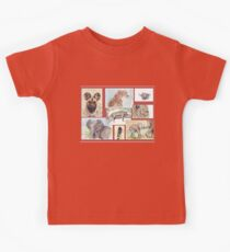 Lodge décor – South African wildlife collection Kids Tee