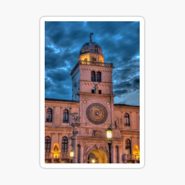 Torre dell orologio, Padova, Italy Sticker