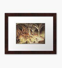Smaug's Cave Framed Print
