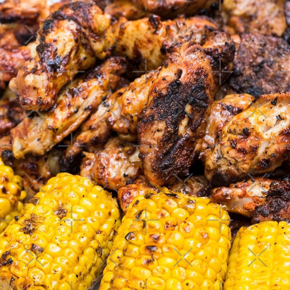 Corn and Chicken by ansaharju