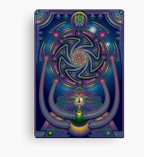 Unique abstract poster designs-Shiva the destroyer Canvas Print