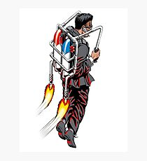 Jetpack Man Photographic Print