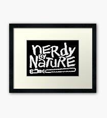 I am Nerdy Framed Print