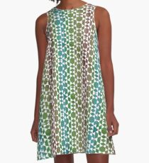Grafic colors A-Line Dress