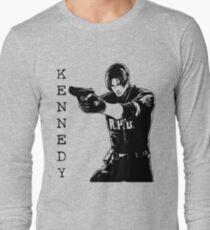 Leon Kennedy Resident Evil 2 Long Sleeve T-Shirt