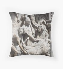 Martyrs Pulpit Throw Pillow