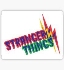Stranger Things Type Sticker