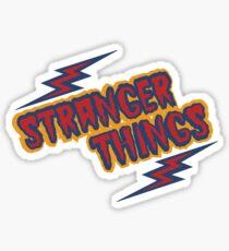 Stranger Things Retro Sticker