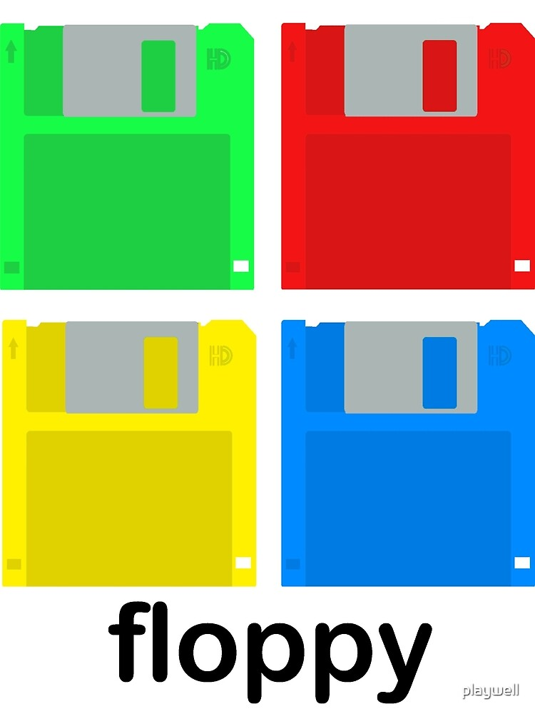 Four floppies by playwell