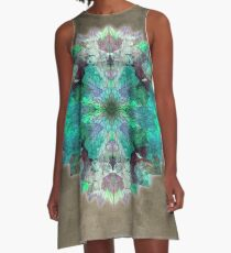 star mandala 16 A-Line Dress
