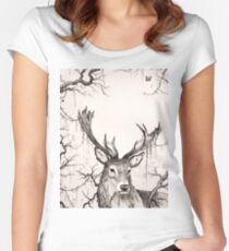 Within The Sleeping Forest  Women's Fitted Scoop T-Shirt