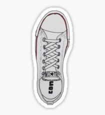 White Chucks - All Stars Sticker