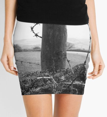 few shades of grey ,,,wired up  Mini Skirt