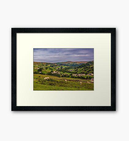 Arkengarthdale Yorks Dales Framed Print