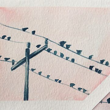 Birds on a Wire by MarenMay