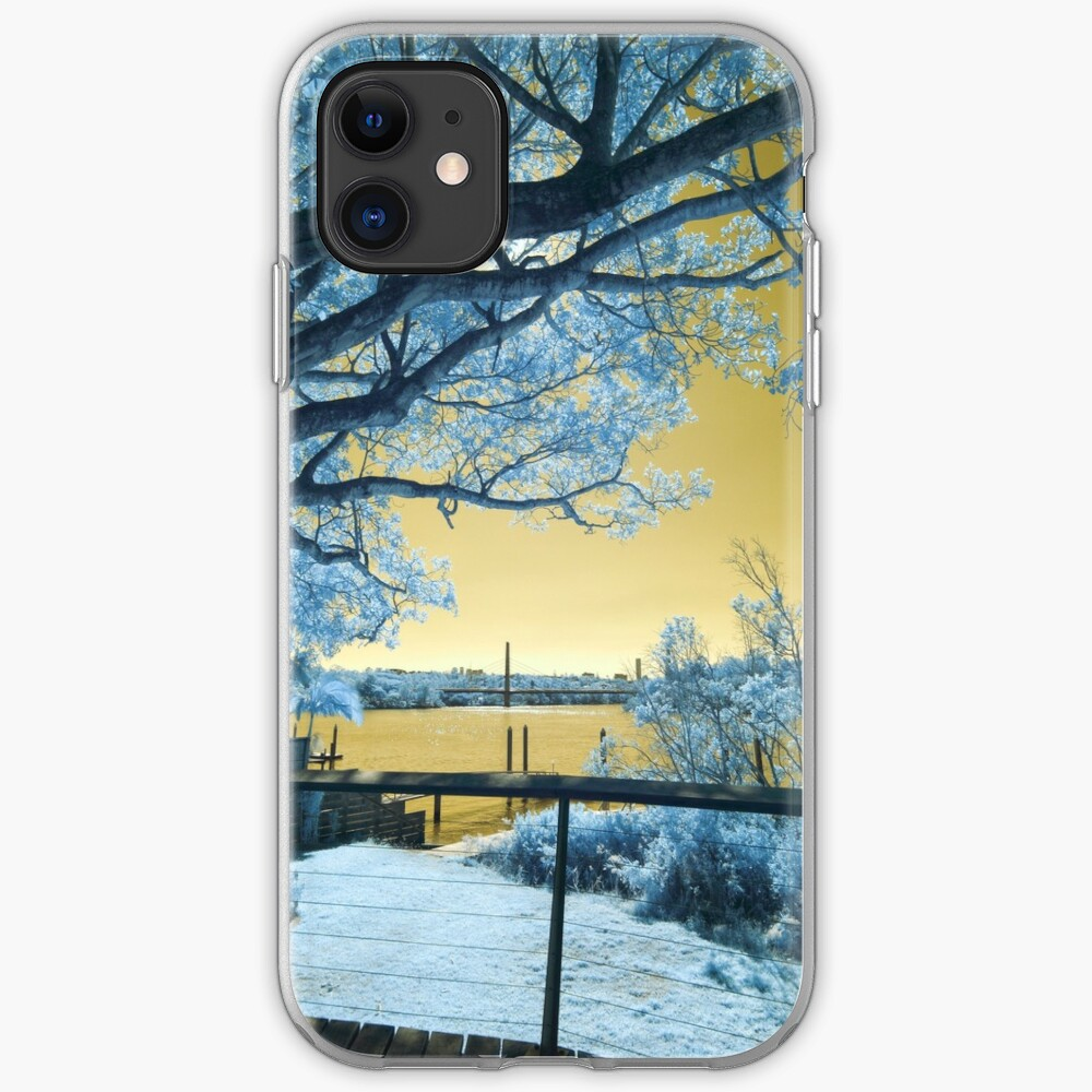 The Fig Tree and the Eleanor Schonell Bridge iPhone Case & Cover