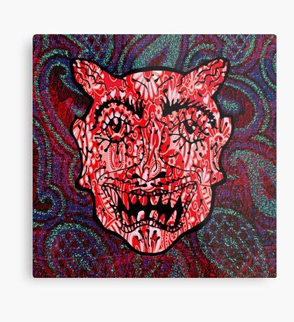 'Handsome Devil Mask #3' Metal Print