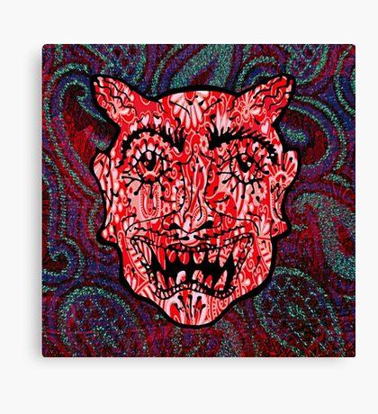 'Handsome Devil Mask #3' Canvas Print
