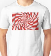 Abstract - Spirals - The power of mint Unisex T-Shirt
