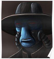 Cad Bane digital painting Poster