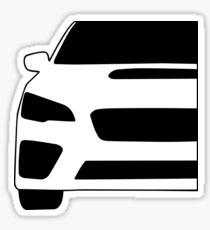 2015+ Subaru WRX STI Full Front with Corner Edge Cut Sticker / Decal Sticker