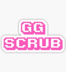 gg scrub Sticker