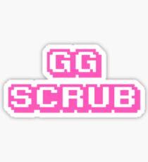 gg scrub Sticker