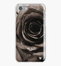 glitter rose iPhone Case/Skin
