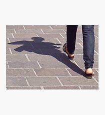 Winged shadow, Bolzano/Bozen, Italy Photographic Print