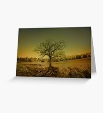 October Surprise Greeting Card