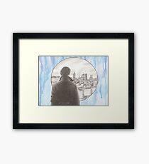 Sherlock's London Framed Print