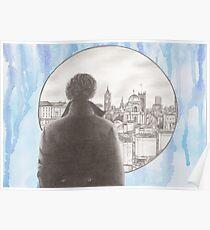 Sherlock's London Poster