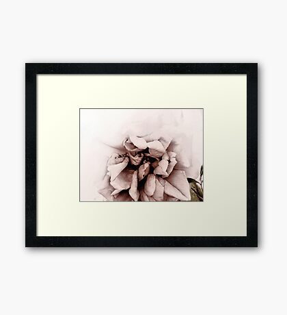 The Heart Remembers Framed Print